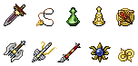 Dawn of Darkness - Special/Unique Items by Great-Aether