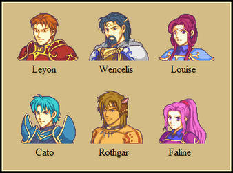 Dawn of Darkness Mugshots 4 (Updated) by Great-Aether