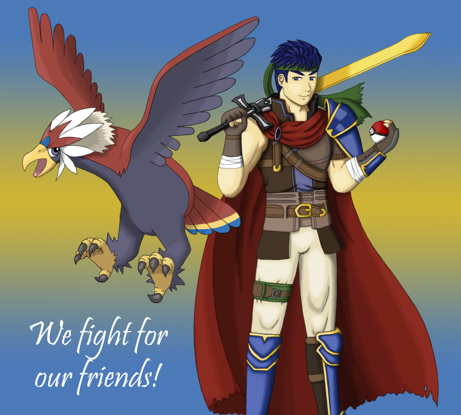 We Fight For Our Friends By Great Aethe