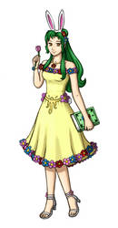 Elincia: Queen of Flowers by Great-Aether