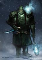 Doctor Who Ice Warrior Design by SimonPrime