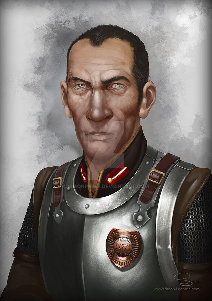 Commander Vimes by SimonPrime