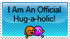 Hug-a-holic Stamp by Athenas88