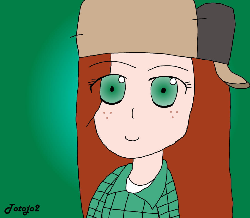 [Cartoons] Wendy Corduroy (Gravity falls) by Totojo2