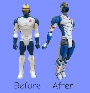 Before and After Iron Legion