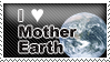 Mother Earth Stamp by denialindeed