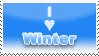 Winter stamp by denialindeed