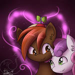 Button Mash and Sweetie Belle