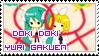 Doki Doki Yuri Gakuen Stamp by H17OM1