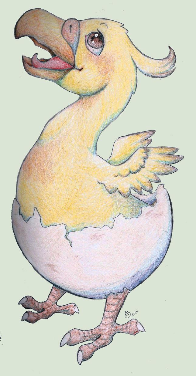 Nagisa the obnoxious wayward chocobo by Llayx