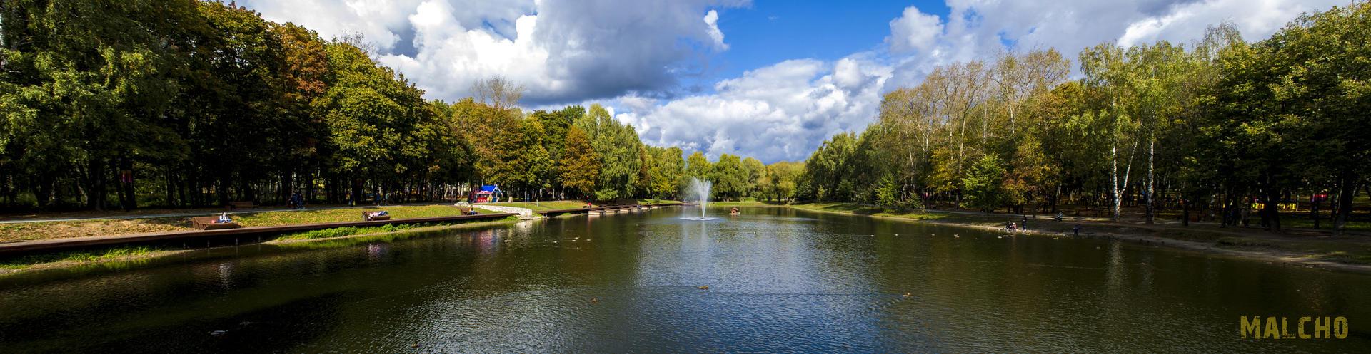 Pond: Panorama
