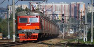 Rare electric train