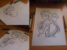 Frozen artwork by Martaxrodriguez