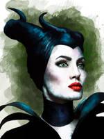 Maleficent by Martaxrodriguez