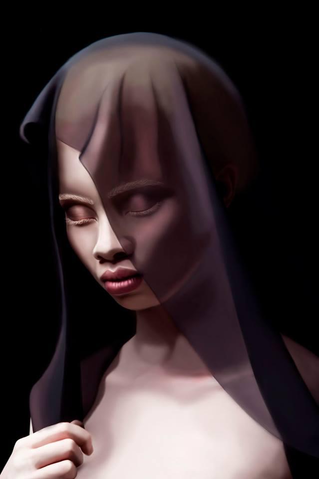 Albino Beauty by Martaxrodriguez