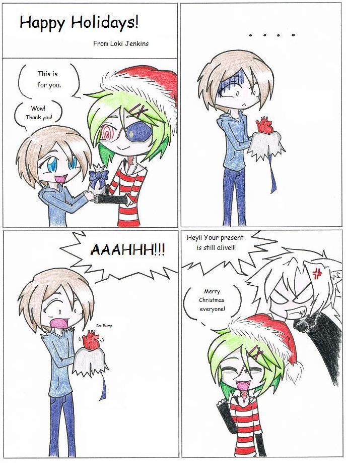 Happy Holidays by Tomo-Dono