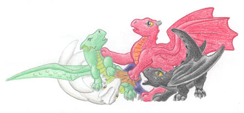 Our Hatchies by Thunderwing
