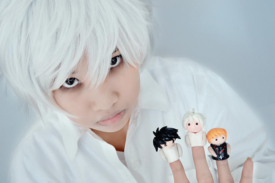 near with finger puppets by monicawos on deviantart