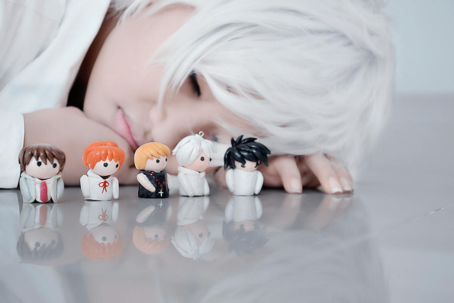 near with 5 finger puppets by monicawos on deviantart