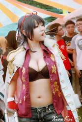 Smoker san in Tashigi's body by MonicaWos