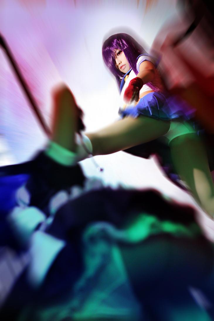Ikkitousen Unchou Kanu VS Ryomou Shimei by MonicaWos