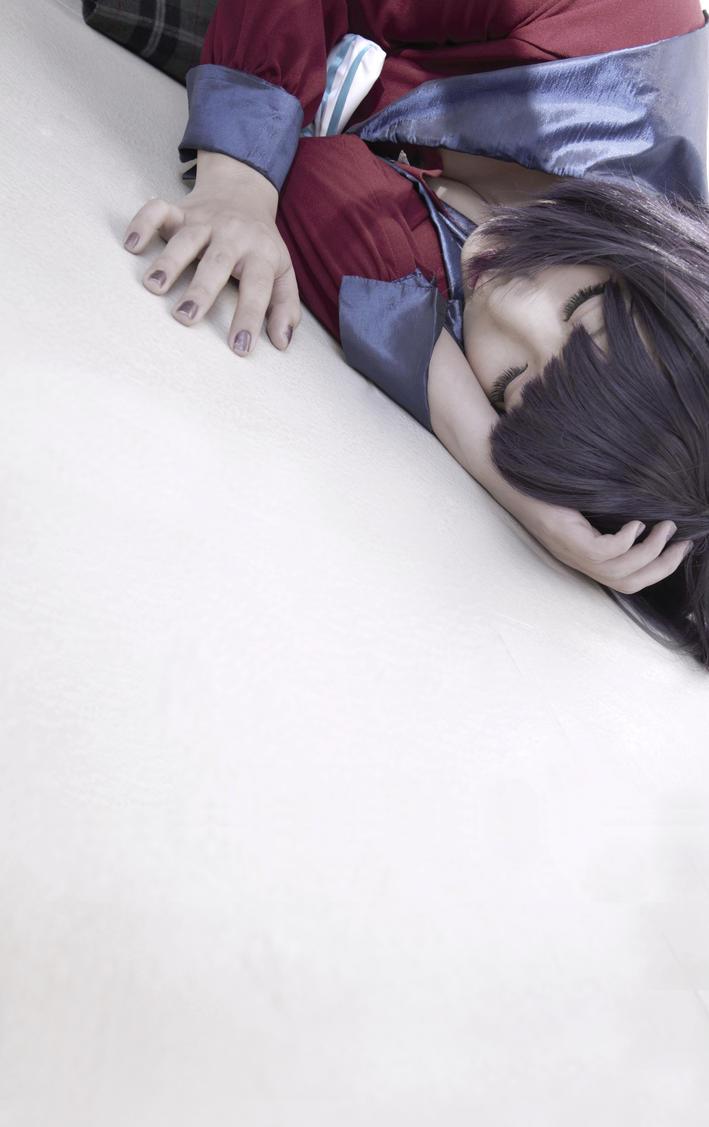 Sailor Moon - Hotaru Tomoe Lying by MonicaWos