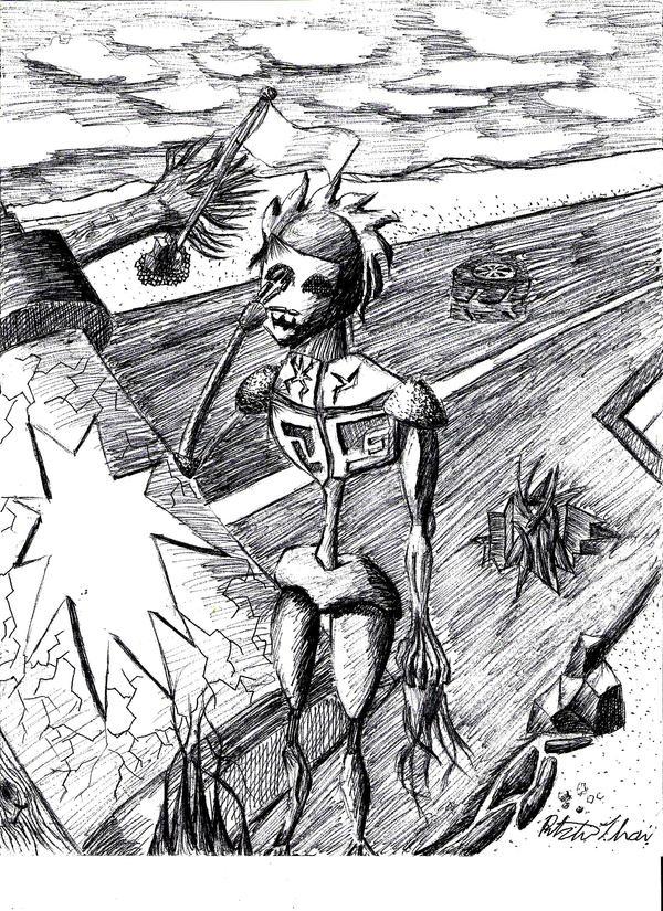 The Traveller by Tela-Ferrum