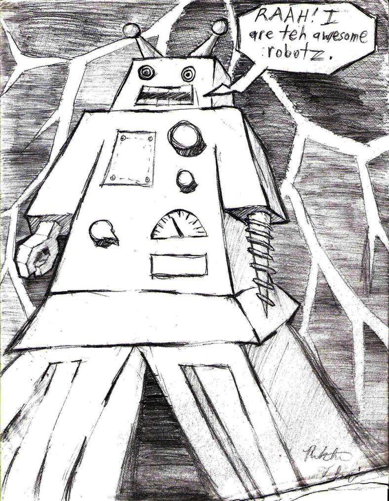 Awesome Robotz by Tela-Ferrum