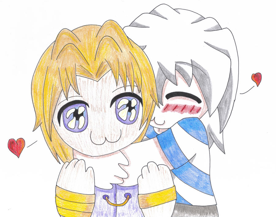 Chibi hug by Toboe217 on deviantART
