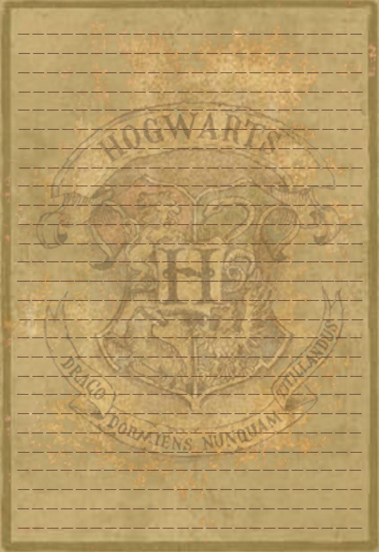 Hogwarts Crest Stationery V1 By Sinome Rae On Deviantart