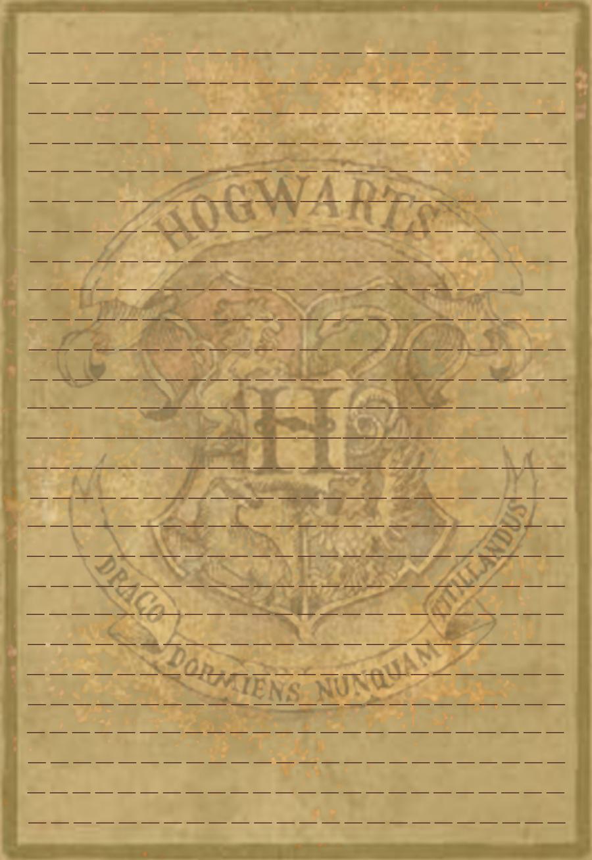 Hogwarts Crest Stationery v1 by Sinome-Rae
