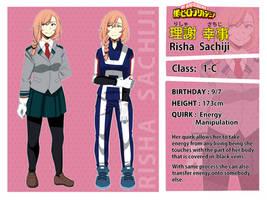 BNHA OC - Sachiji Risha by SilentSnow777