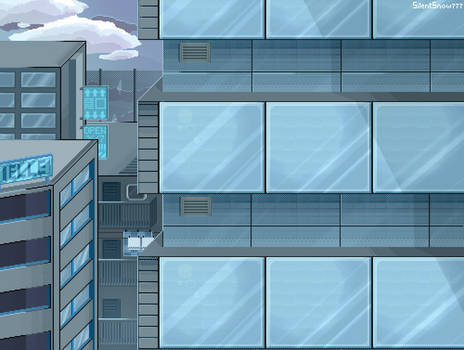 Pixel art landscape?