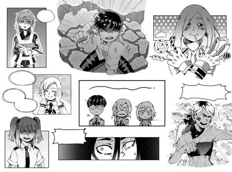 BNHA Manga Practice