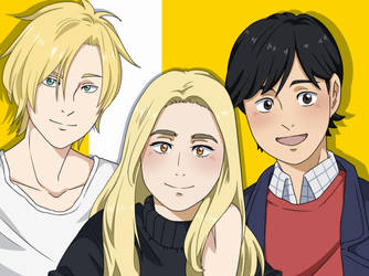 Commission #60 - Banana Fish by SilentSnow777