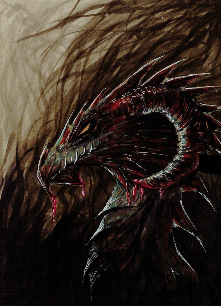 Dragon by Montieze