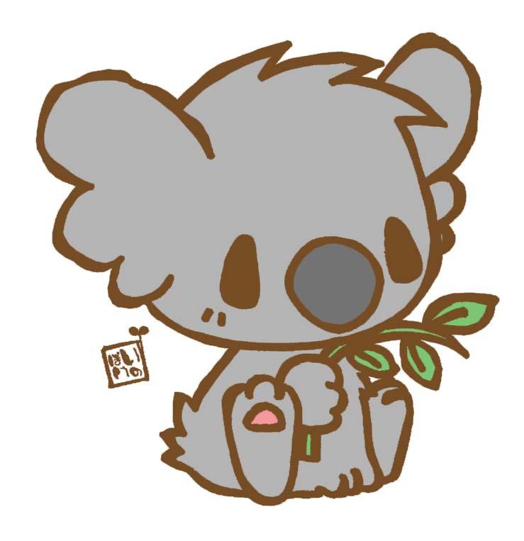 how to draw a koala on a tree