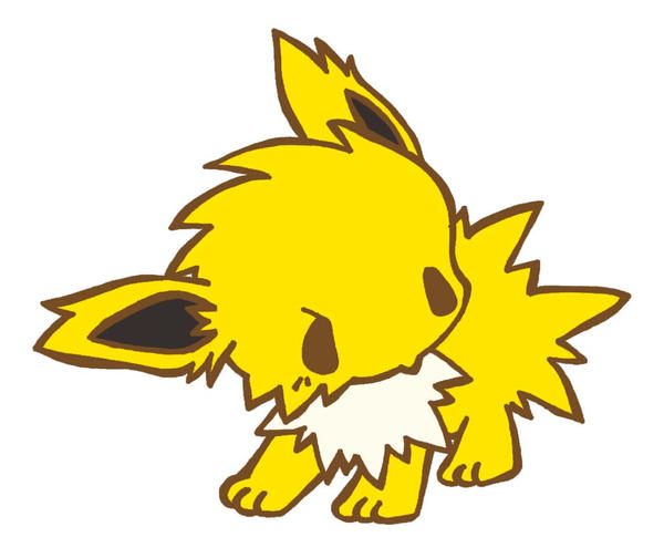 Jolteon by inopoke on DeviantArt
