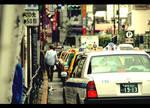 Tokyo Taxi by garazy