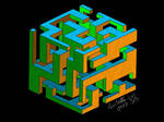 Simple Complexity Cube Maze