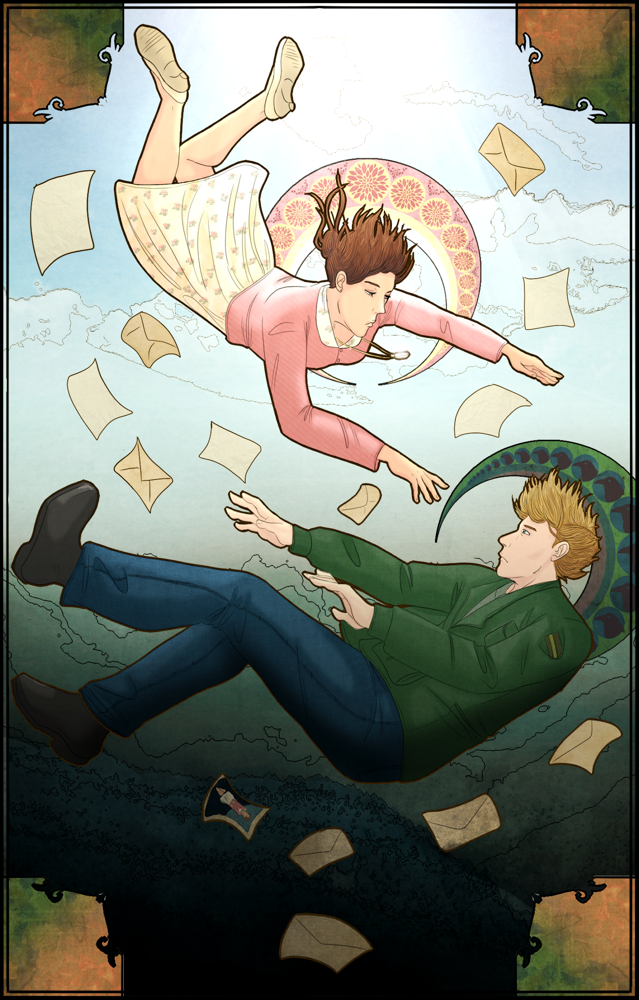 James and Mary: Sinking Hands by p-h-i-l-o-s