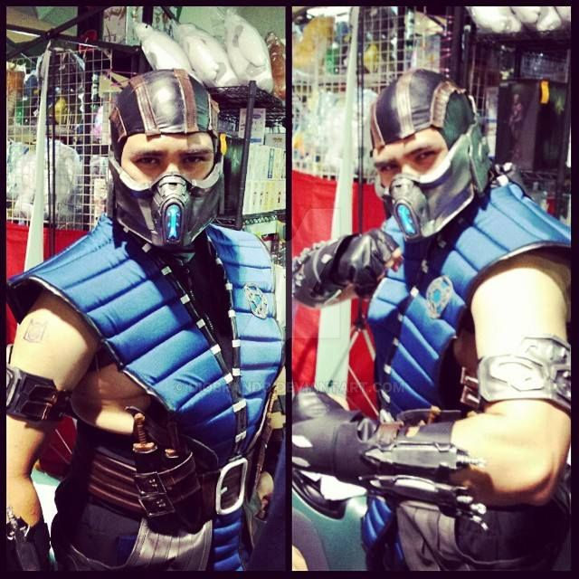 ToyCon 2015: Sub-Zero (Mortal Kombat X) by DioBrando on