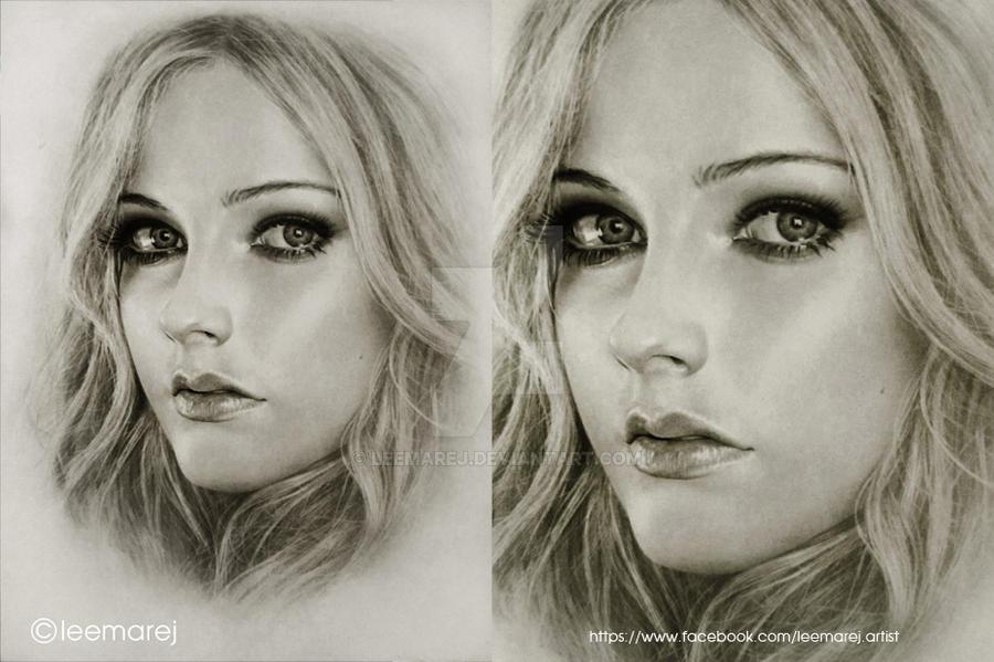 Avril Lavigne portrait by leemarej