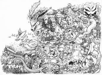 Naruto Doodle High Reso by leemarej