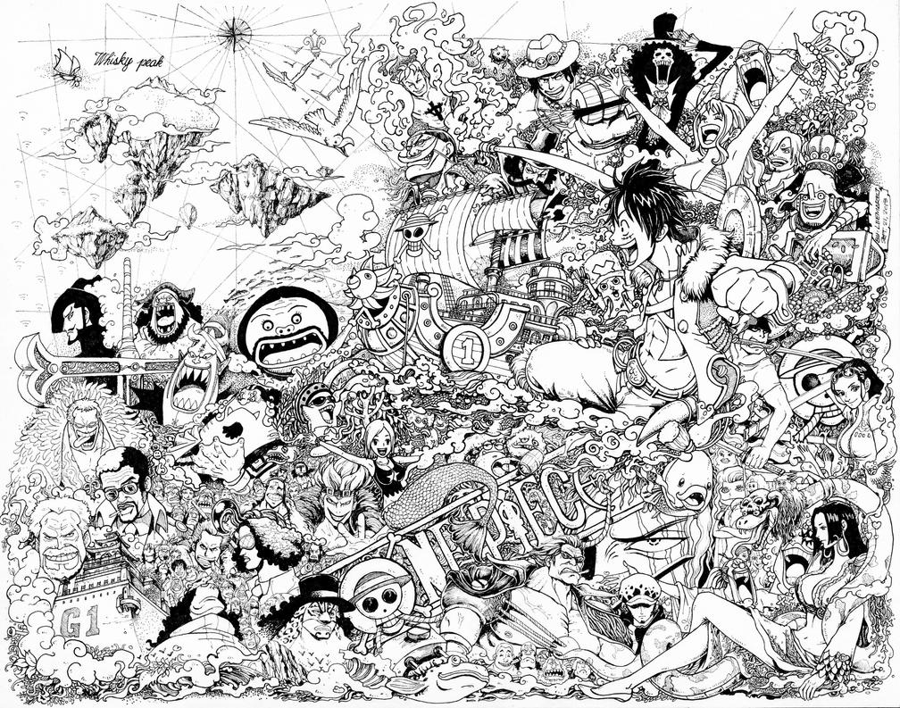 One Piece Doodle High Reso By Leemarej On DeviantArt