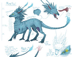 Pandora Creature-Contest Entry by wiccimm