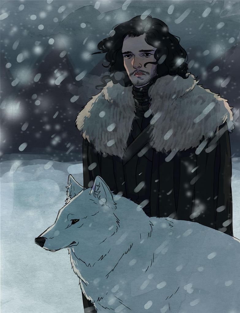 jon snow by wiccimm