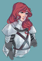 lady knight by wiccimm