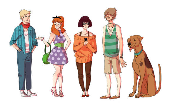 hipster scooby doo