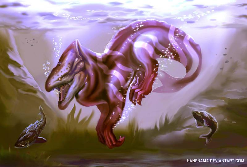 Creature File : B02 (Redesign) by Hanenama